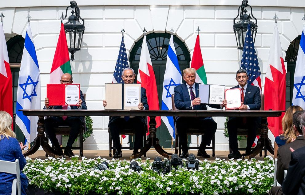 Abraham Accords Signing Ceremony