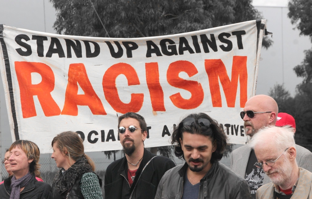 Stand up against Racism   Source: John Englart, Flickr